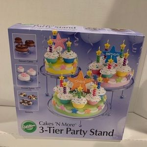 Wilton Cakes n More 3-Tier Party Stand